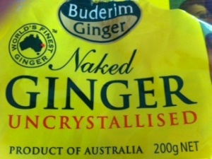 Naked Ginger
