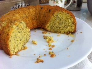Orange and Poppyseed Cake